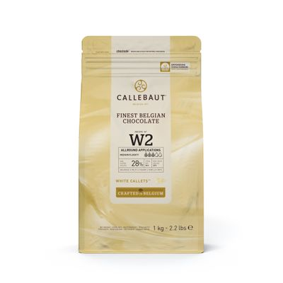 WHITE CHOCOLATE COUVERTURE W2 28%1KG