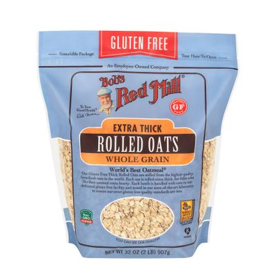 BOB'S RED MILL GLUTEN FREE ROLLED THICK OATS 32OZ