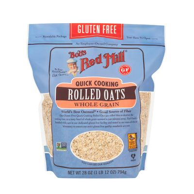 BOB'S RED MILL GLUTEN FREE ROLLED OATS QUICK 28OZ