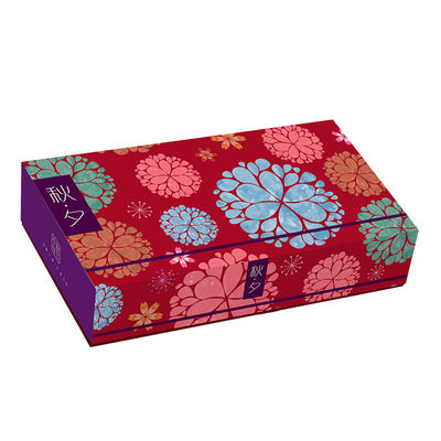 REDMAN MOONCAKE COVERING BOX 8S MIX FLOWER 5SET