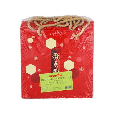 REDMAN MOONCAKE PAPER BAG 4S HEXAGON 5PCS