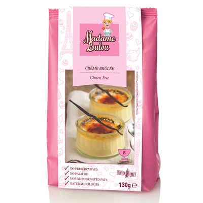 MADAME LOULOU GLUTEN FREE CREME BRULEE MIX 130G