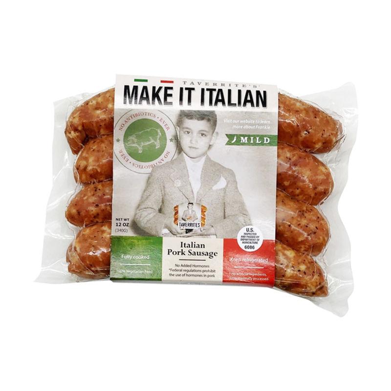 SAUSAGE PORK ITALIAN MILD/MAKE IT ITALIAN (CARX8PACX12OZ) image number 0