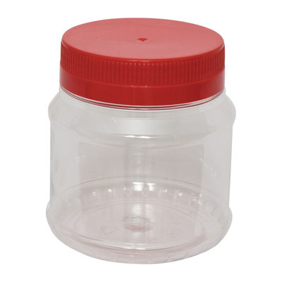 NCI ROUND PET BOTTLE RED CAP 750ML 4017