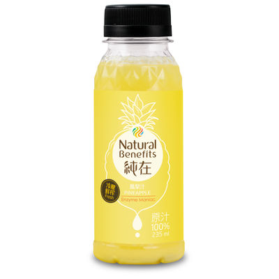 NATURAL BENEFITS DRINK PINEAPPLE JUICE 235ML
