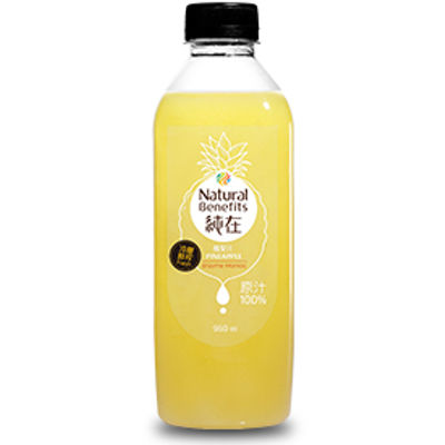 NATURAL BENEFITS DRINK PINEAPPLE JUICE 960ML