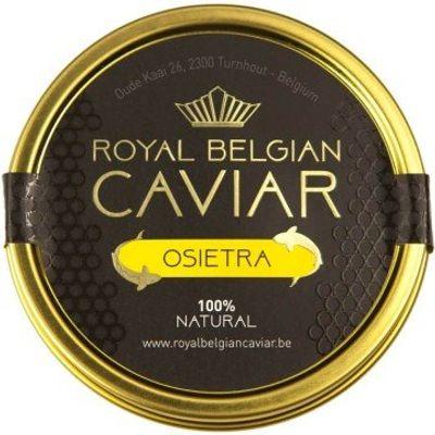 ROYAL BELGIUM CAVIAR CAVIAR OSIETRA 50G (KURA)