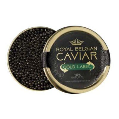 ROYAL BELGIUM CAVIAR CAVIAR GOLD LABEL 50G
