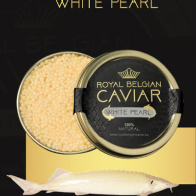 ROYAL BELGIUM CAVIAR CAVIAR WHITE 50G (STERLET)