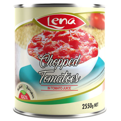 LENA CHOPPED TOMATO 2550G