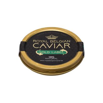 ROYAL BELGIUM CAVIAR CAVIAR GOLD LABEL 30G