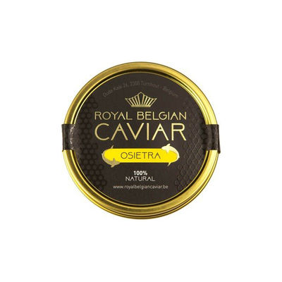 ROYAL BELGIUM CAVIAR CAVIAR OSIETRA 30G (KURA)