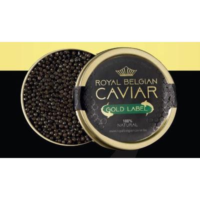 ROYAL BELGIUM CAVIAR CAVIAR GOLD 125G (SIBERIA)