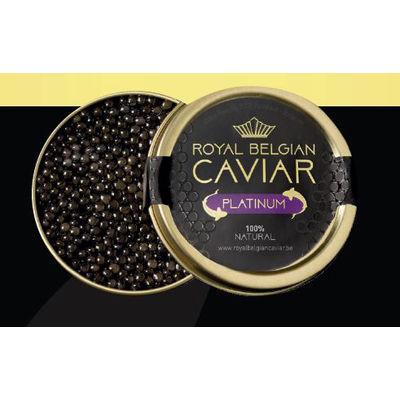 ROYAL BELGIUM CAVIAR CAVIAR PLATINUM 125G (HYBRID)