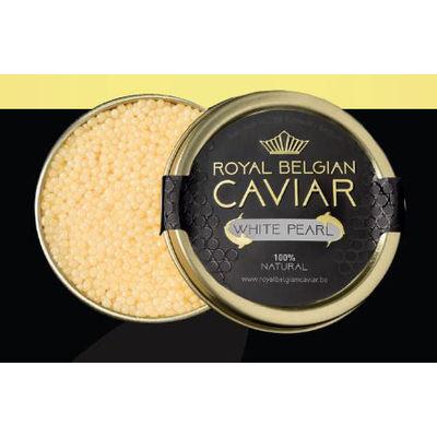 ROYAL BELGIUM CAVIAR CAVIAR WHITE 125G (STERLET)