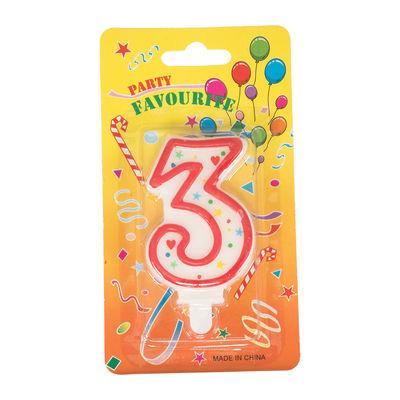 REDMAN BIRTHDAY CANDLE #3