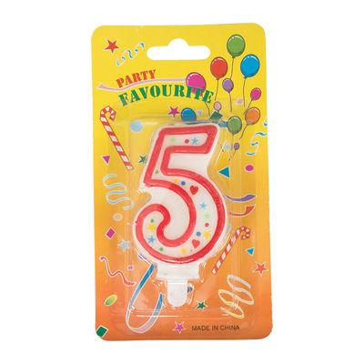REDMAN BIRTHDAY CANDLE #5