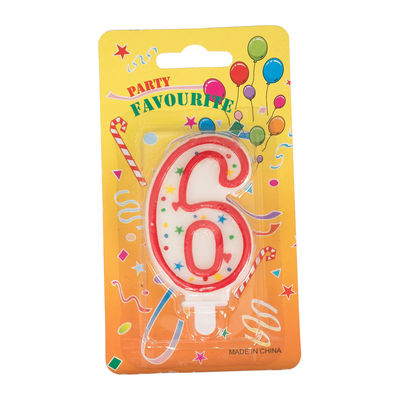 REDMAN BIRTHDAY CANDLE #6