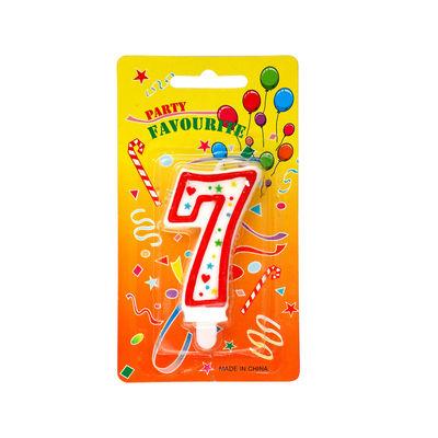 REDMAN BIRTHDAY CANDLE #7