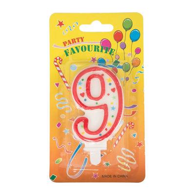 REDMAN BIRTHDAY CANDLE #9