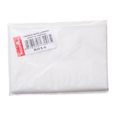 REDMAN DISPOSABLE PIPING BAG-LARGE 10PCS