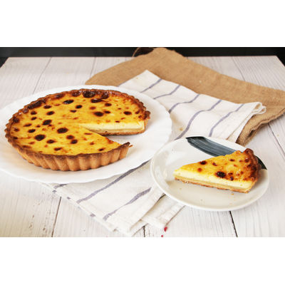0930 Vanilla Flan + Brioche Loaf