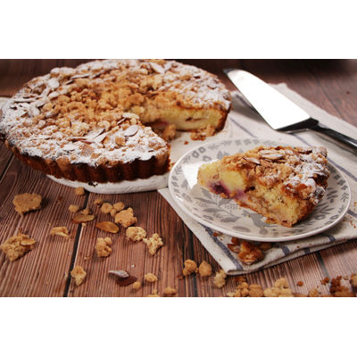 0816 Apricot Cherry Crumble Cake + Pumpkin Artisan Bread
