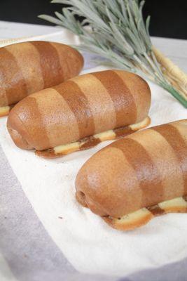 220216 Latte Rice Bread 拿鐵米麵包 & Taiwanese Scallion Pancake 台式蔥油餅