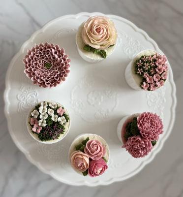 0801 Korean Buttercream Cupcakes