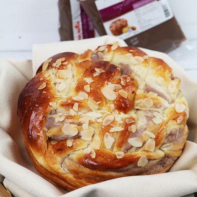 1027 Pulled Yam Bread & Macadamia Tart