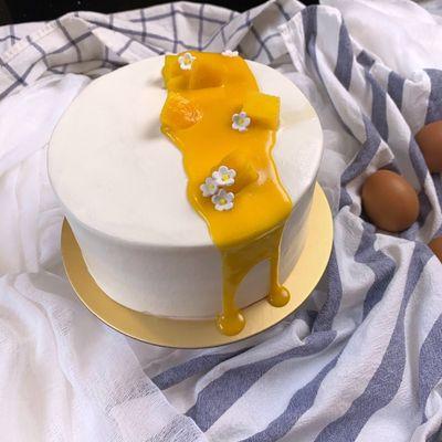 0706 Mango Fresh Cream Cake