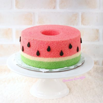 0725 Watermelon Chiffon Cake