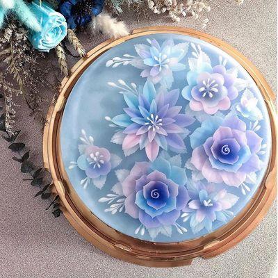 0627 3D Floral Jelly Cake - Basic