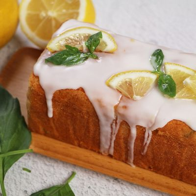 0723 Lemon Basil Pound Cake & Matcha Cookie