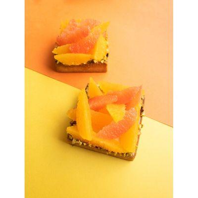 0803 Citrus Tart & Hazelnut Tart