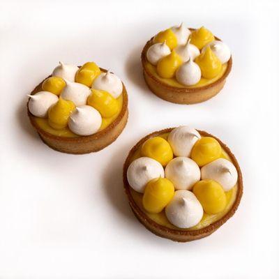 0806 Lemon Tart & Raspberry Tart