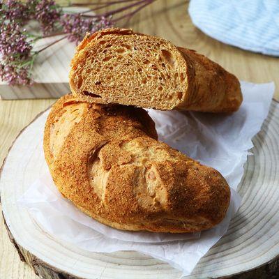 Crusty Three Cheese Bread Recipe