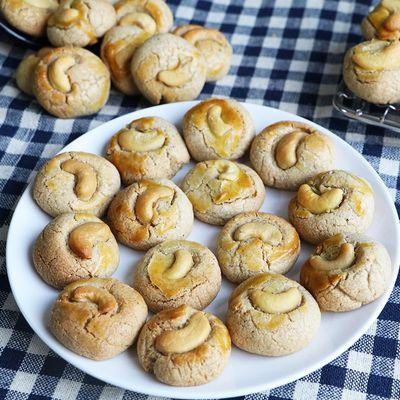 Cashew Nut Cookies Recipe