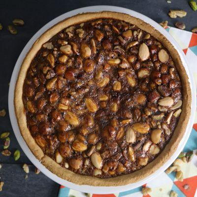 Assorted Nut Torte Recipe