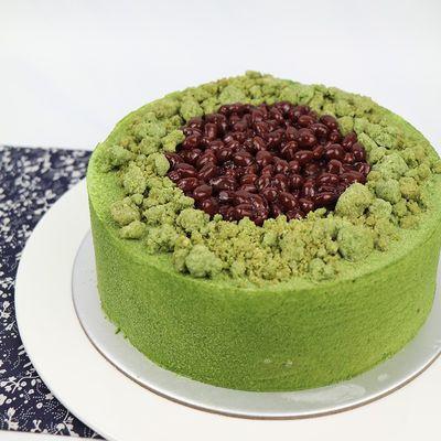Matcha Red Bean Cream Cake Recipe