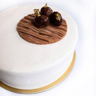 Mont Blanc Chestnut Shortcake Recipe