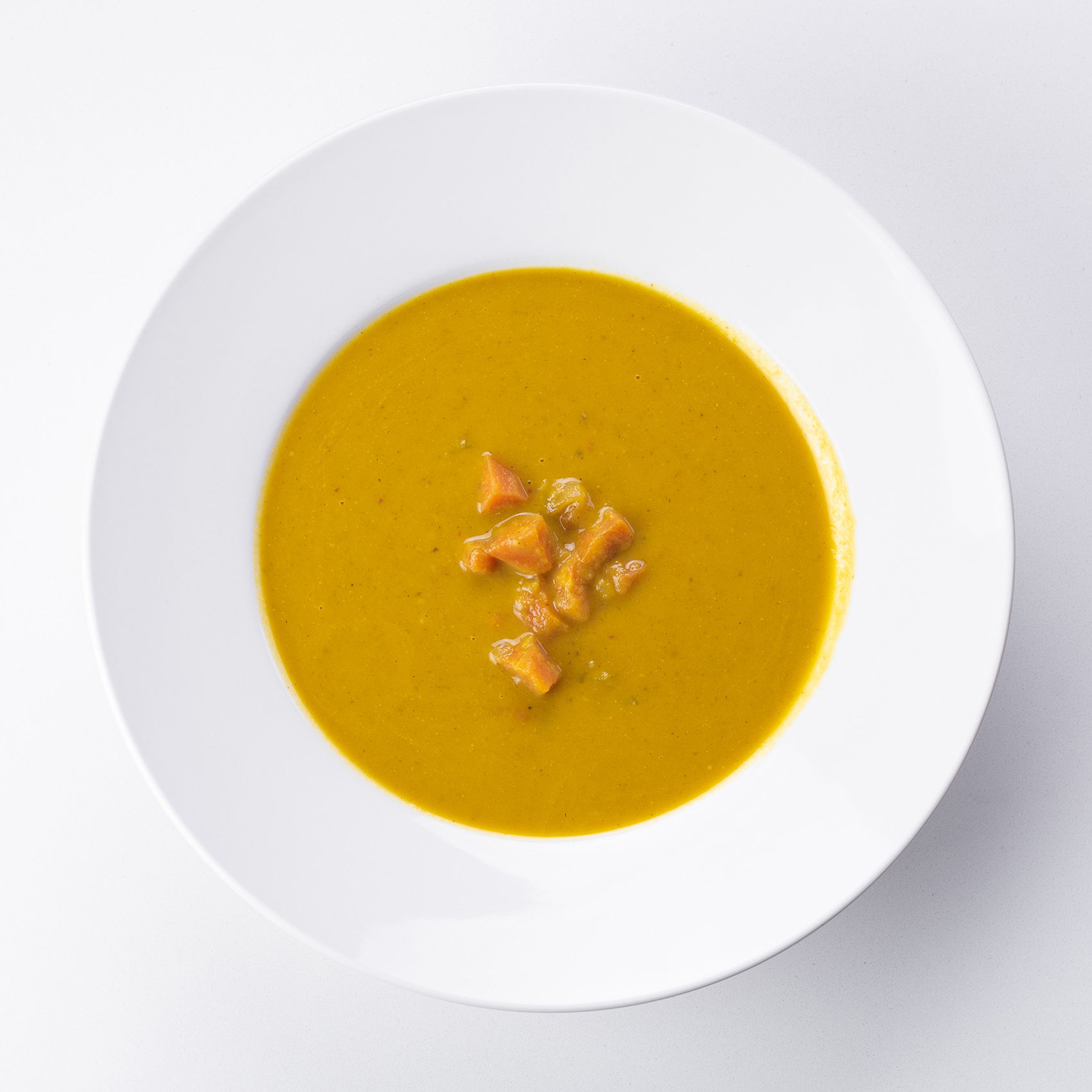 House-Made Coconut Carrot Soup
