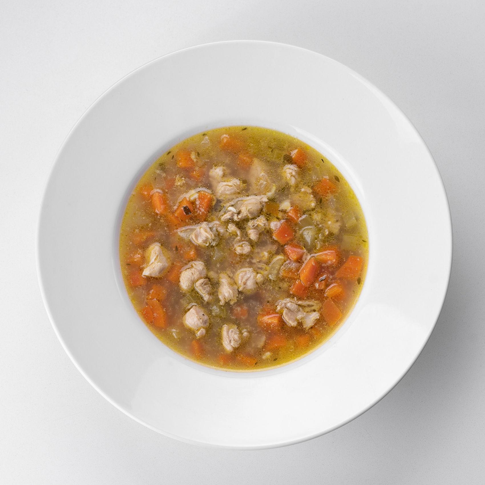 House-Made Chicken Soup (حلال)