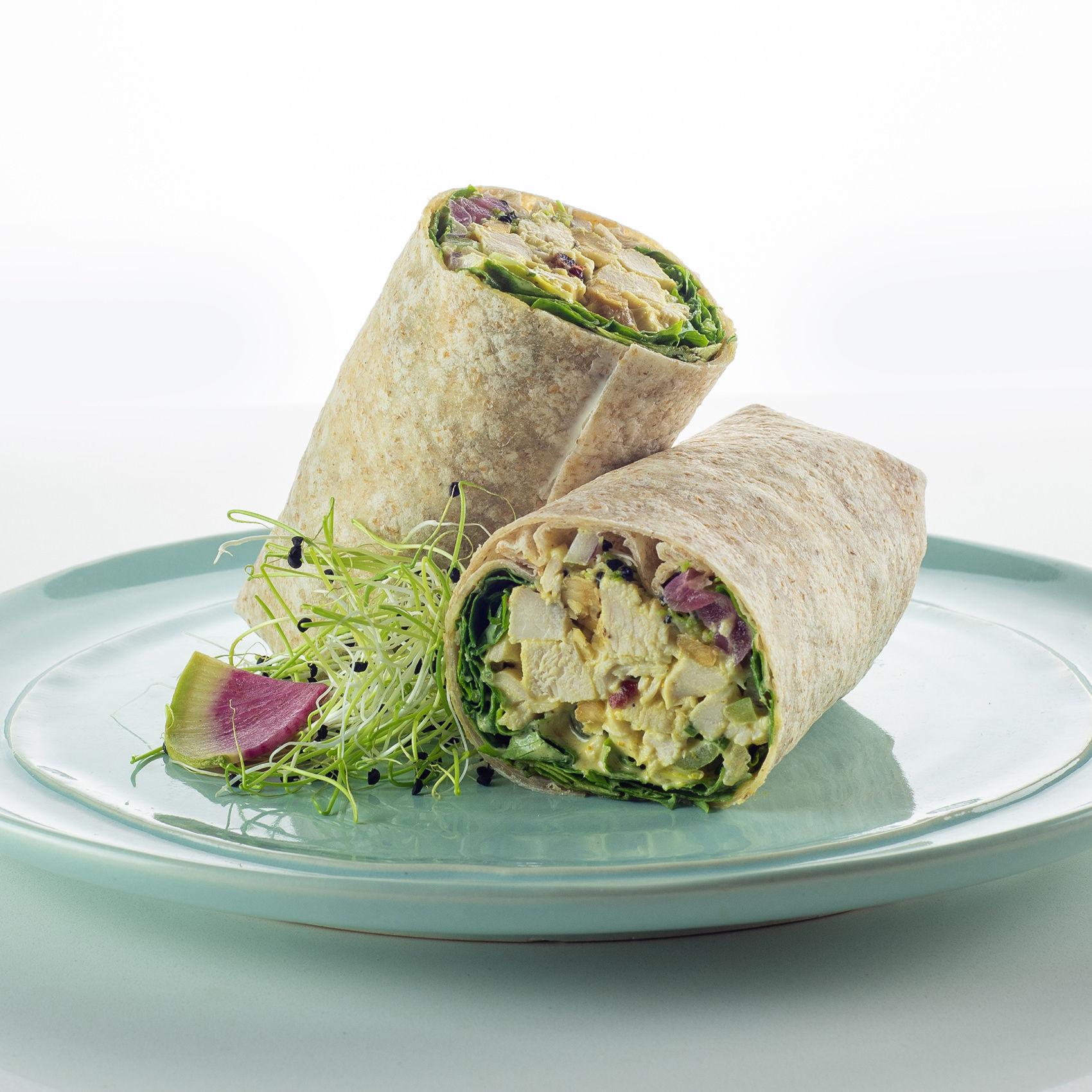 Curried Chicken Salad Wrap