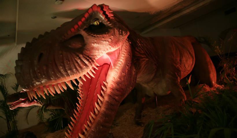 Exposição Mundo Jurássico: últimos dias dos dinossauros no RioMar
