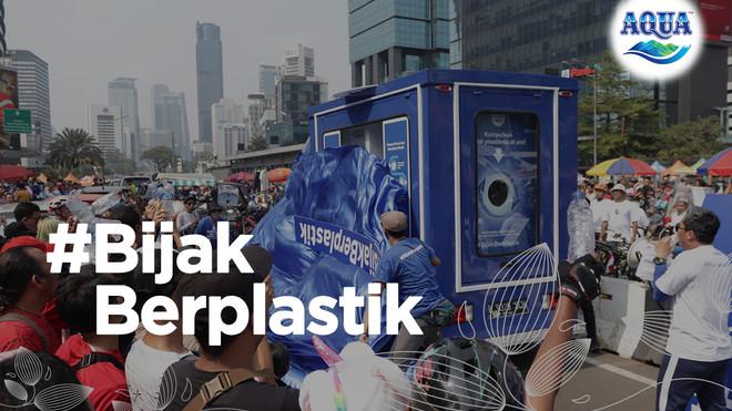 Promosikan Pengelolaan Sampah Plastik yang Baik, Danone-AQUA Memperkenalkan Truk #BijakBerplastik