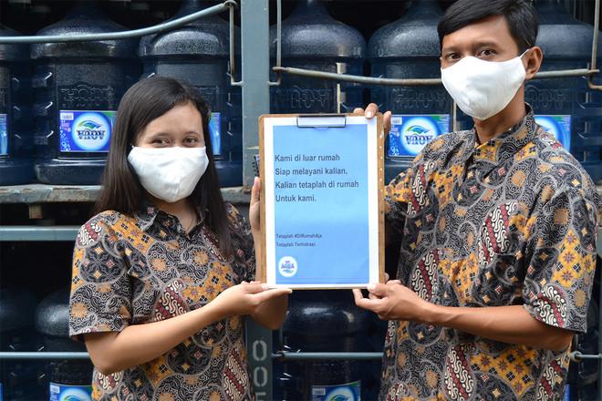 Danone-AQUA Menjaga Kebutuhan Hidrasi di Tengah Pandemi