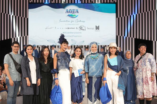 AQUA Menggelar Peragaan Produk Fashion Berkelanjutan di JFW 2020
