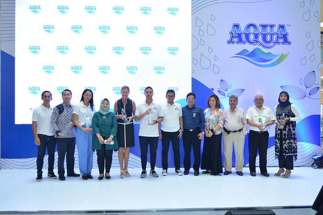 AQUA Memperkenalkan Inovasi Botol 100% Daur Ulang dan Dapat Didaur Ulang di Jakarta
