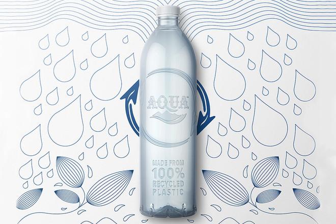 AQUA Mengatasi Sampah Plastik Dengan Daur Ulang Botol Plastik